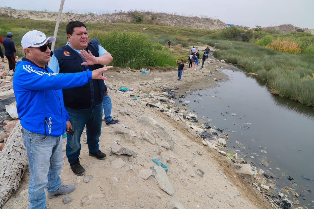 Alcalde Briceño inspeccionó humedales de Villa María y anunció delimitación de zona ecológica - Diario Digital Chimbote en Línea