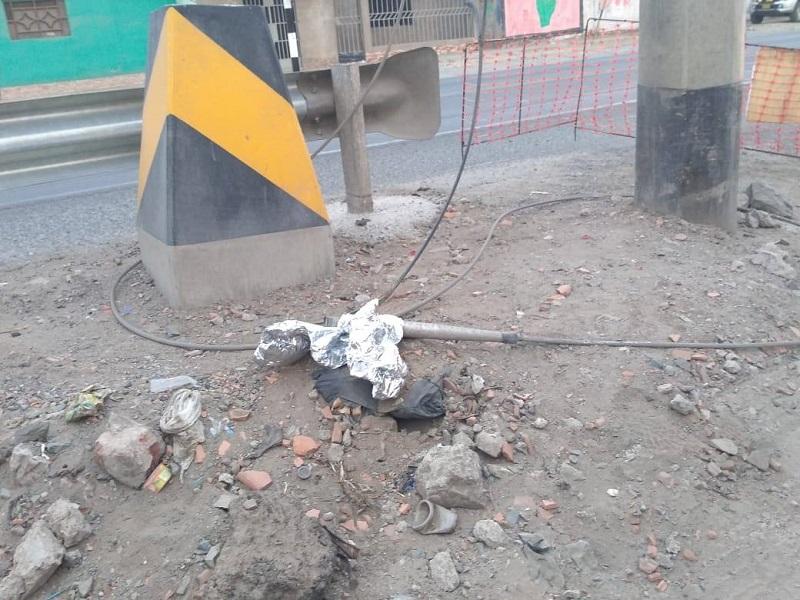 Coishco: caída de globo de helio interrumpe servicio de energía eléctrica - Diario Digital Chimbote en Línea