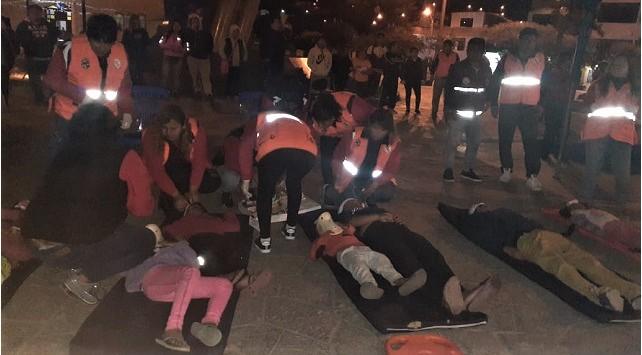 Simulacro nocturno: puente Bailey colapsa y Coishco Viejo desaparece en sismo de grado 8.5 y tsunami - Diario Digital Chimbote en Línea