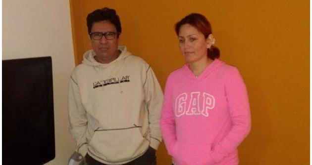Policía captura a pareja de esposos prófugos del caso