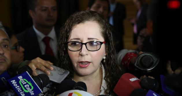 Rosa Bartra defiende ley de modalidades formativas laborales