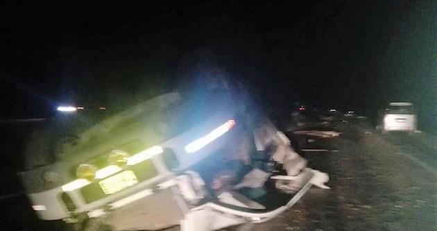 Choque en la Panamericana Norte dejó un muerto y 4 heridos — Huarmey