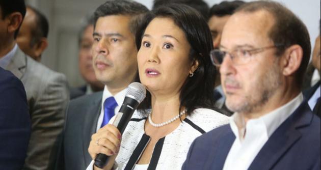 Kenji y los otros congresistas deben renunciar a Fuerza Popular — Becerril