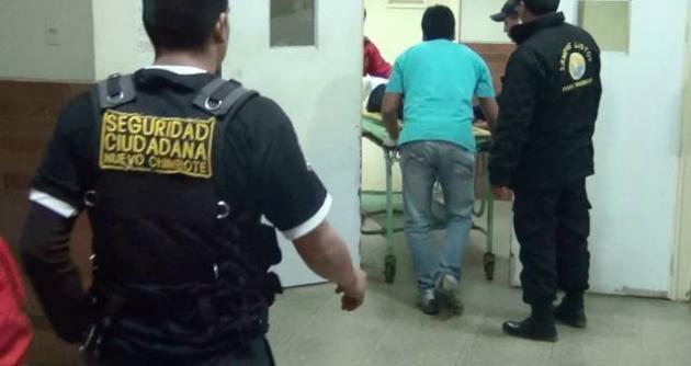 Policía recapturó a preso que escapó de hospital de Chimbote