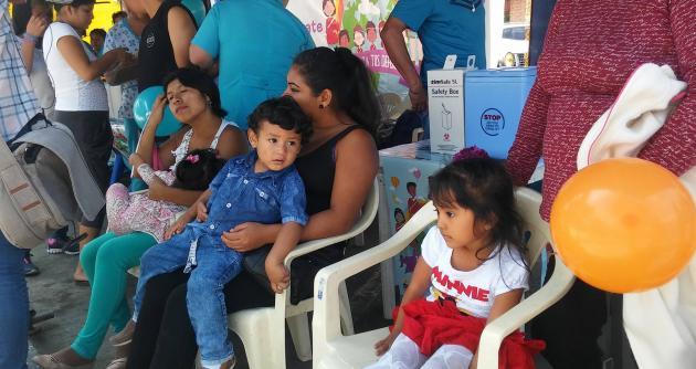 Jornada de Vacunación avanza 88 por ciento a nivel nacional