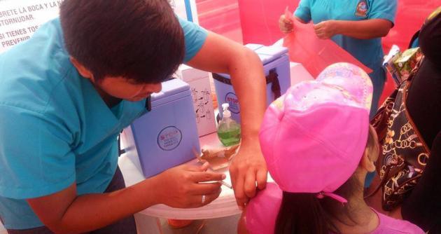 Inicia Semana de Vacunación en las Américas del Minsa y la CSS